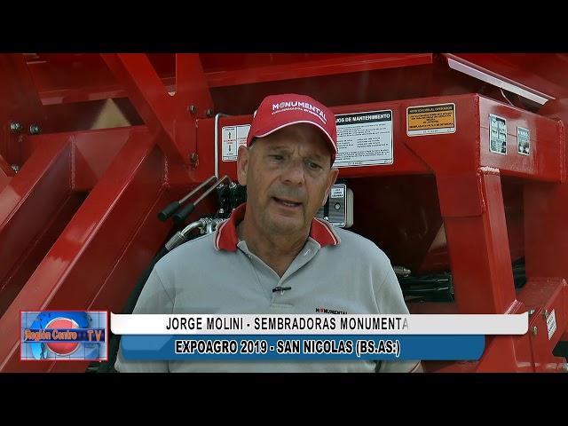 Jorge Molini - Departamento Ventas en Expoagro 2019