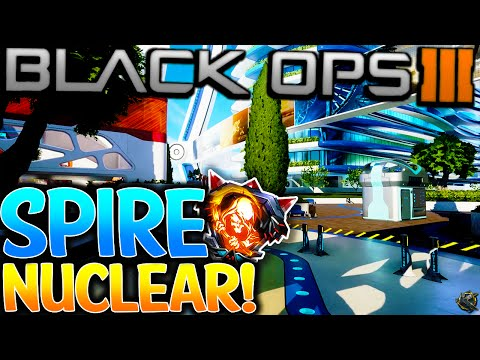 "BLACK OPS 3 ""SPIRE"" NUCLEAR! NEW ECLIPSE DLC 2 ""SPIRE"" MAP ""NUCLEAR""! (BO3 ECLIPSE DLC 2 ""NUCLEAR"")"