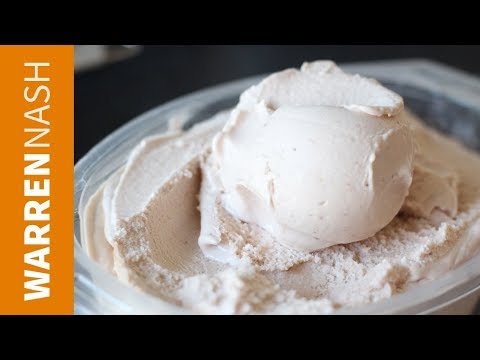 How To Make Ice Cream At Home - Quick Tutorial - Recipes By Warren Nash