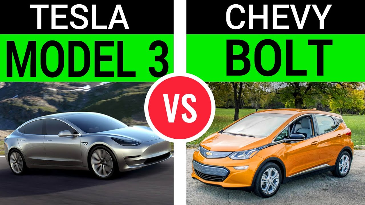 Tesla Model 3 vs Chevy Bolt, and the real competitor of ...