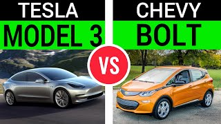Tesla Model 3 vs Chevy Bolt, and the real competitor of Model 3