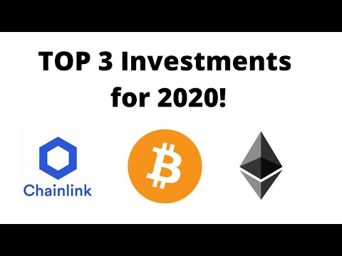 Top 3 cryptocurrency investments for 2020 (April update)