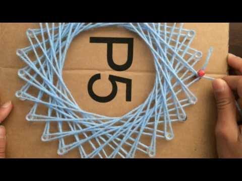 How To Make Easy and Cool String Art