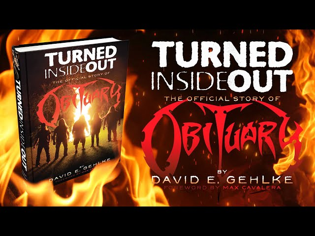 dB Books Presents TURNED INSIDE OUT: The Official Story of Obituary