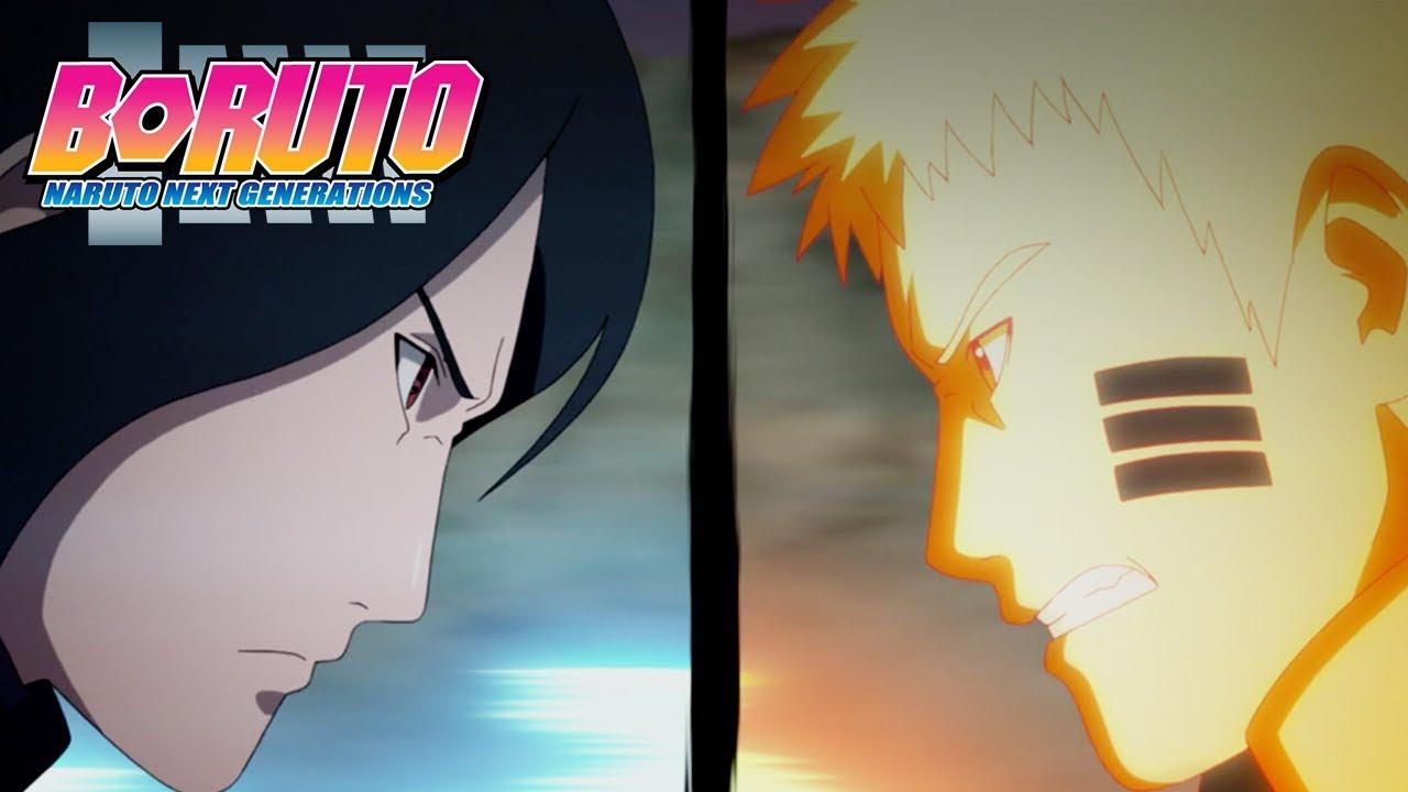 Naruto and Sasuke vs Jigen | Boruto: Naruto Next Generations