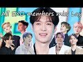 All EXO members miss Lay