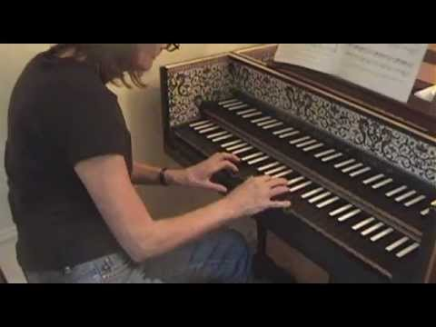 Elaine Comparone plays Bach Prelude in C Major, BWV 846   (Well-Tempered Clavier)