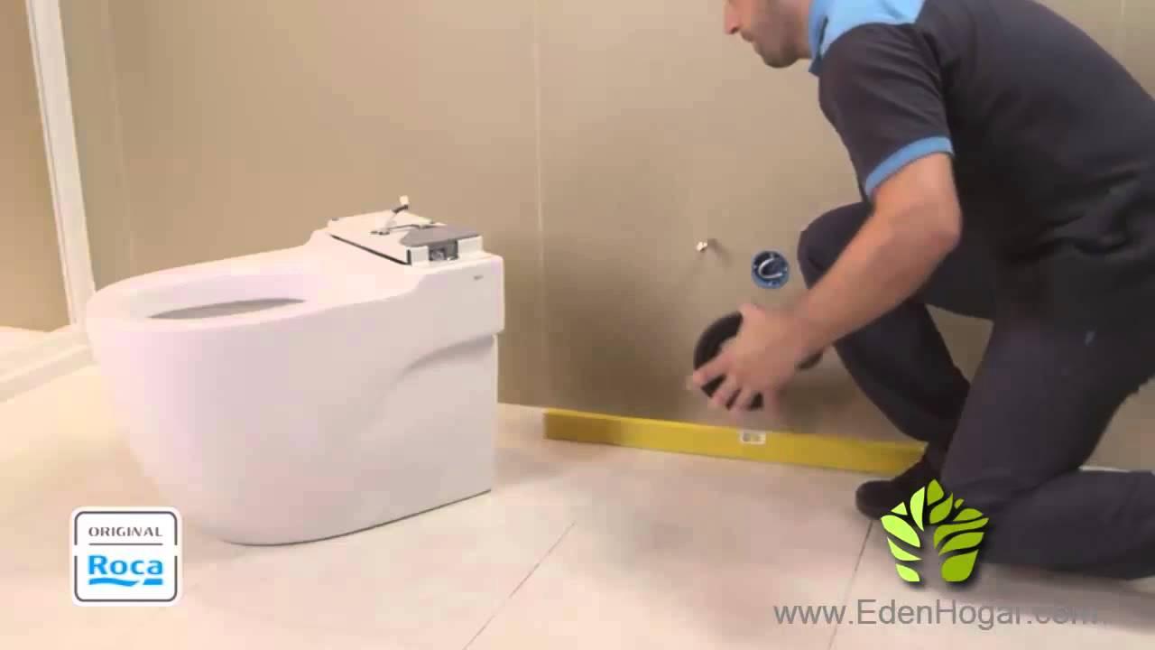 Roca meridian in tank inodoro de pie instalacion youtube for Instalacion inodoro roca