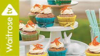 Candied Carrot Cupcakes | Waitrose