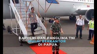 Kapolri dan Panglima TNI Mulai Berkantor di Papua