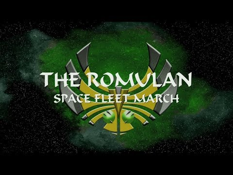 "STAR TREK - ""The Romulan Space Fleet March"""