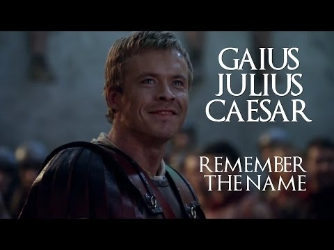 Gaius Julius Caesar Remember the Name