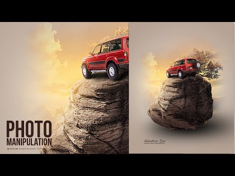 Create a Photo Manipulation of Adventure Suv Photoshop Tutorial