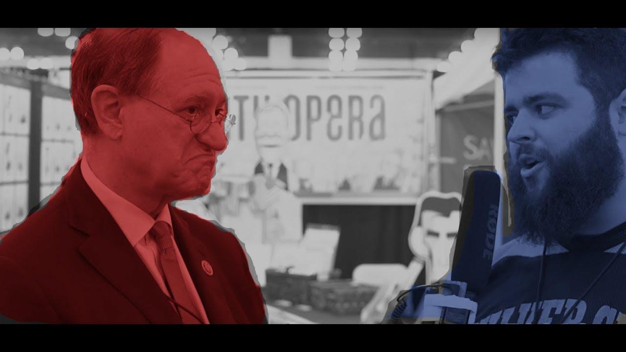 Congressman Brad Sherman Dodges DNC Hacking Questions | FLECCAS TALKS
