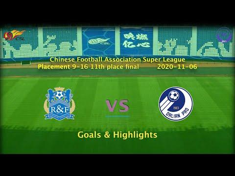 Guangzhou R&F Dalian Pro Goals And Highlights