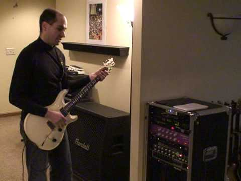 Guitar rig - demo of Lexicon MPX-G2 effects