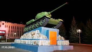 Центральная проходная \Уралвагонзавод\ \ Танк Т-34-85 улица Ильича