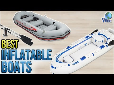 8 Best Inflatable Boats 2018 - YouTube