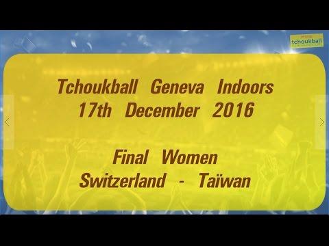 Tchoukball Geneva Indoors 2016 / Nations Cup Women Final : Switzerland - Taiwan