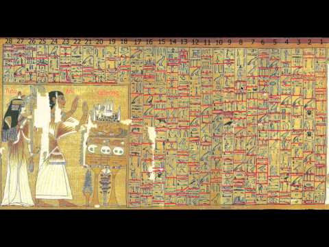 Egyptian Book of the Dead by Ani - Plate 1 - Read Word for Word - Text