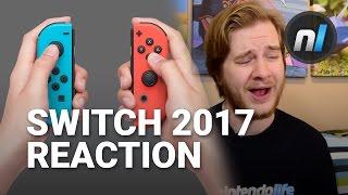Nintendo Switch Live Presentation 2017 Reaction