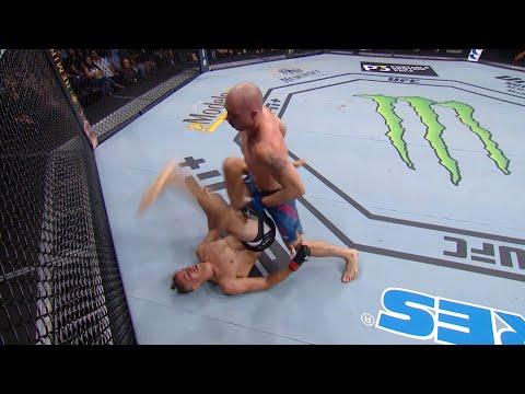 Два финиша апкиком в UFC