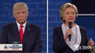 watch live the 2nd presidential debate