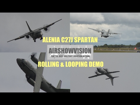 C27J SPARTAN DEMO 2011 - ITALIAN AIR FORCE (airshowvision)