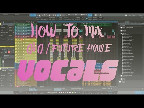 Mixing lead vocals on a Trap\ OVO \ house type  record