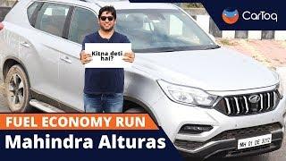 Mahindra Alturas G4 4x4 Fuel Economy Run