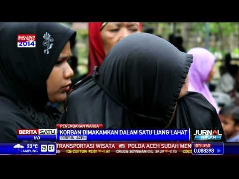 Korban Penembakan di Aceh Dikebumikan