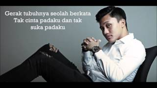 Rizky Febian   Cukup Tau (Lyrics Video)