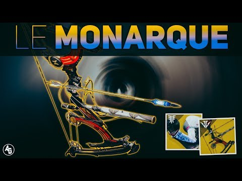 Le Monarque Exotic Bow (Welcome to DoT) | Destiny 2 Black Armory Exotic
