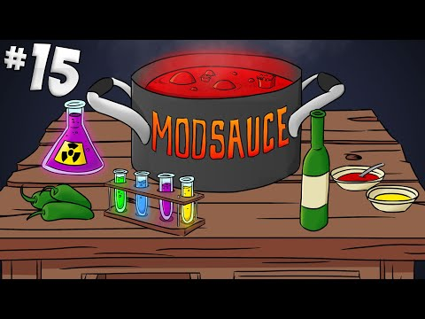 Minecraft Mod Sauce - Part 15 - Crazy Expensive Armour & Obsidian Generator!