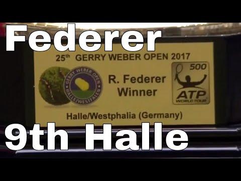⭐ Roger Federer vs Alex  Zverev - Halle Gerry Weber Open Final - Set1 - June 25, 2017 ⭐