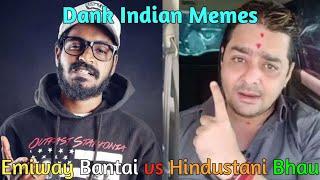 Hindustani Bhau Funny Memes On Emiway Bantai Rap Song | Emiway Bantai v/s Hindustani Bhau Memes |
