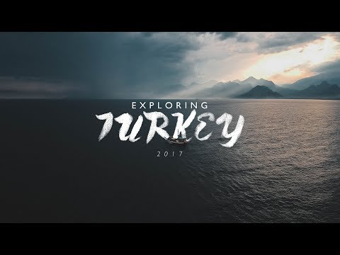 EXPLORING TURKEY 2017 (Lumix GH4 / DJI Spark Travel Video)