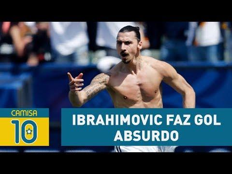 Outro PUSKÁS? Ibrahimovic Faz Gol ABSURDO Em Estreia Na MLS