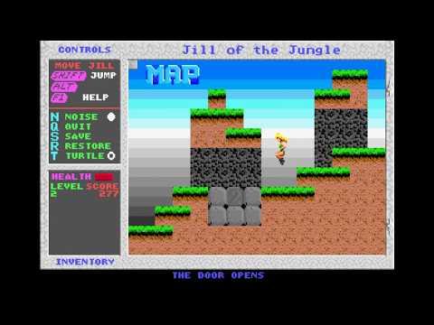 Jill of the Jungle Ep. 1 (PC MS-DOS, 1992) (Longplay)