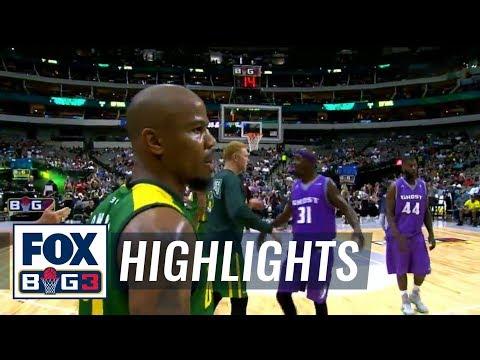 Ghost Ballers vs Ball Hogs | BIG3 HIGHLIGHTS