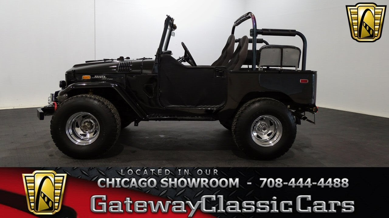 1970 toyota fj40 land cruiser gateway classic cars chicago 1076 rh youtube com