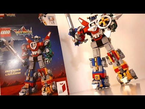 LEGO Ideas Voltron 21311 - Der größte LEGO Mech aller Zeiten | Übersicht, Aufbau & Review