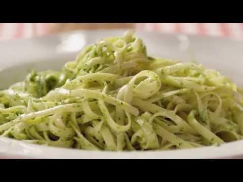 Green spinach Pesto Pasta