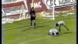 ASSE 0-1 Lyon - 9e journée de D1 1990-1991