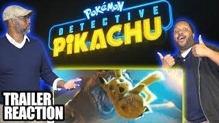 NERDS REACT to POKÉMON Detective Pikachu - Official Trailer #1