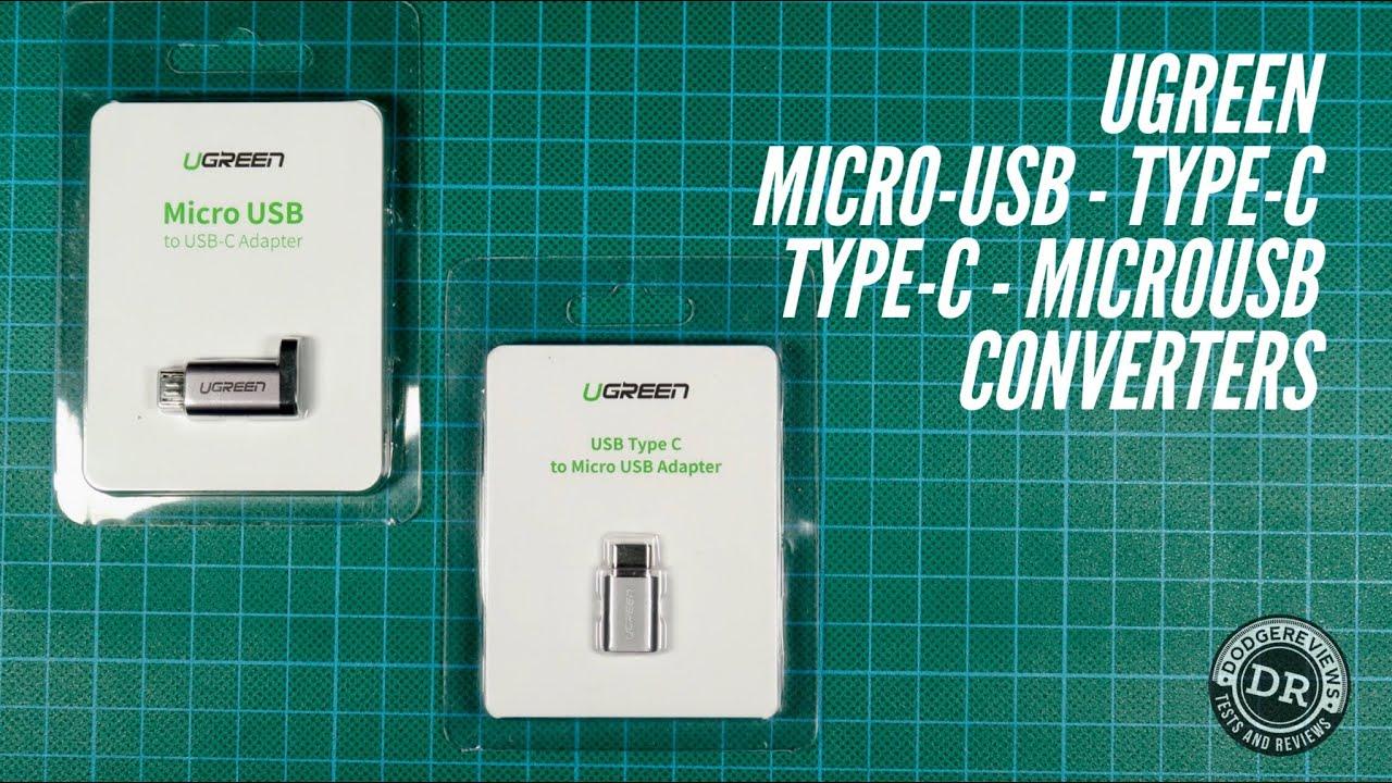 Ugreen micro-usb-Type-C & Type-C-micro-usb converters (Discord submission)