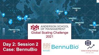 GSC 2021 Day 2 | Session 2   Case: BennuBio