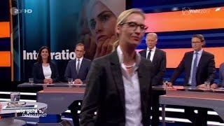Der Eklat im ZDF - Alle gegen Alice Weidel AfD?  #WiegehtsDeutschland 05.09.2017 - Bananenrepublik