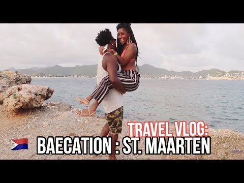 BAECATION TRAVEL VLOG:  ST MAARTEN!