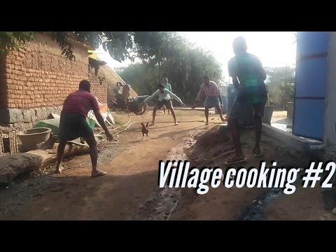 catching hen, cooking chicken | my village show